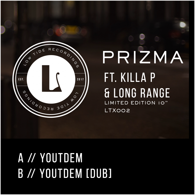 Prizma releases Youtdem with Killa P and Long Range on Low Tide Recordings