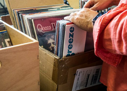 Crate digging at Two Sides Records: January 2021