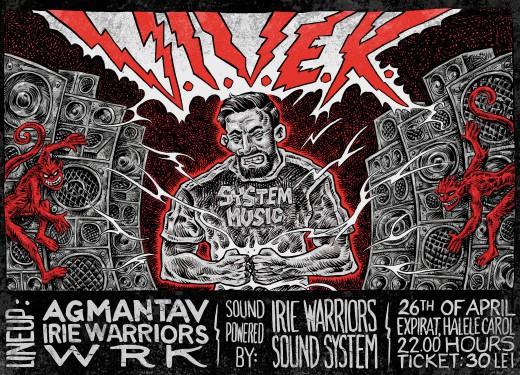 Full lineup and artwork revealed for our next club night w/ V.I.V.E.K.