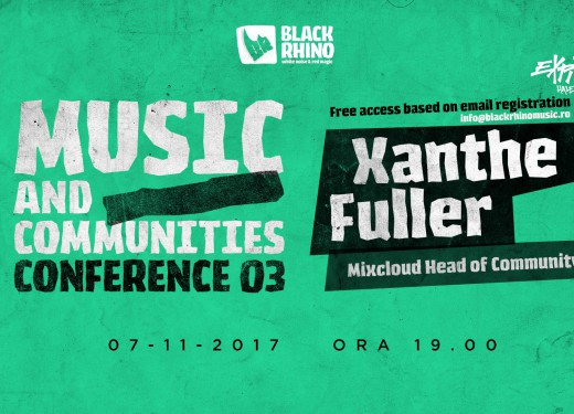 Conference #3. Xanthe Fuller, Mixcloud Head of community