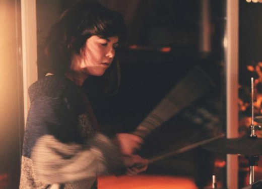 A conversation with Oana Pop, drummer at Lights Out