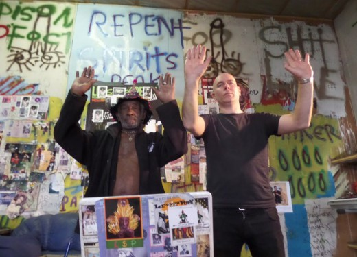 Peter Harris x Lee Scratch Perry - Nothing Is Really Something (Video Premiere)