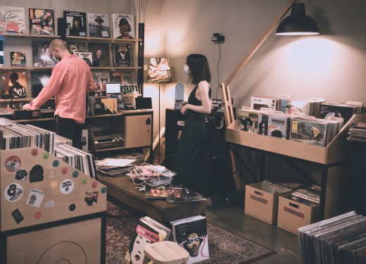 Crate digging at Two Sides Records: August 2020