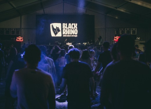 Black Rhino Stage at Time Shift Festival