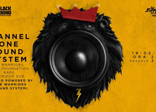 Announcement for our next club night. Channel One Sound System [UK]
